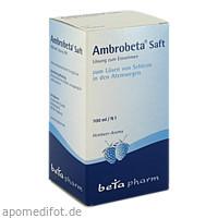 Ambrobeta Saft, 100 ML, betapharm Arzneimittel GmbH