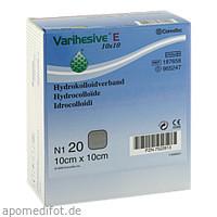 VARIHESIVE E HKV hydroaktiv 10x10cm, 20 ST, Convatec (Germany) GmbH