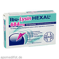 Ibu-LysinHEXAL, 20 ST, HEXAL AG