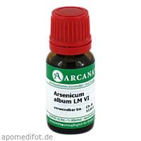 ARSENICUM ALBUM LM 6, 10 ML, Arcana Arzneimittel-Herstellung Dr. Sewerin GmbH & Co. KG