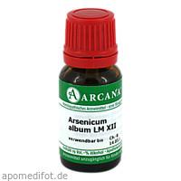 ARSENICUM ALBUM LM 12, 10 ML, Arcana Arzneimittel-Herstellung Dr. Sewerin GmbH & Co. KG