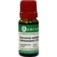 MERCURIUS SOLUB HAHN LM 6, 10 ML, ARCANA Dr. Sewerin GmbH & Co. KG