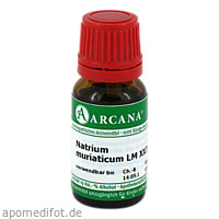 NATRIUM MURIAT LM 24, 10 ML, Arcana Arzneimittel-Herstellung Dr. Sewerin GmbH & Co. KG