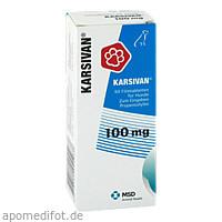 KARSIVAN 100 Filmtabletten f.Hunde, 60 ST, Intervet Deutschland GmbH