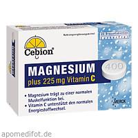 Cebion PLUS VITAMIN C MAGNESIUM, 20 ST, Wick Pharma / Procter & Gamble GmbH