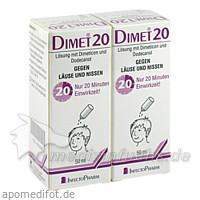 DIMET 20 Lösung, 2X50 ML, Infectopharm Arzn.U.Consilium GmbH
