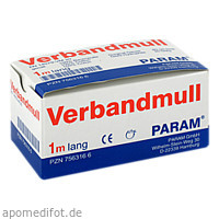 VERBANDMULL 1 M GEROLLT, 1 P, Param GmbH