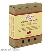 ARGANÖL PFLEGESEIFE Minze & Zitronengras ARGAND'OR, 1 ST, Argand'or Cosmetic GmbH