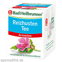 Bad Heilbrunner Reizhusten Tee, 8X1.8 G, Bad Heilbrunner Naturheilm. GmbH & Co. KG