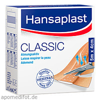 Hansaplast Classic 5mx4cm, 1 ST, Beiersdorf AG