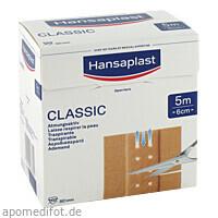 Hansaplast Classic 5mx6cm, 1 ST, Beiersdorf AG