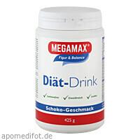 MEGAMAX DIÄT DRINK Schoko, 425 G, Megamax B.V.