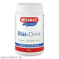 MEGAMAX DIÄT DRINK Vanille, 425 G, Megamax B.V.