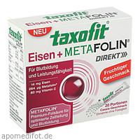 taxofit Eisen + Metafolin, 20 ST, MCM KLOSTERFRAU Vertr. GmbH
