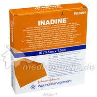 INADINE SALBENGAZE mit PVP Iod 9.5x9.5cm, 10 ST, Kci Medizinprodukte GmbH