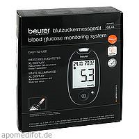 Beurer GL44 Blutzuckermessgerät mmol/L, 1 ST, BEURER GmbH