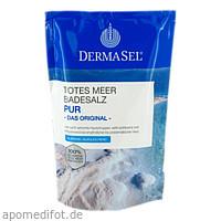 DermaSel Totes Meer Badesalz Pur, 500 G, Fette Pharma GmbH