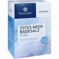 DermaSel Totes Meer Badesalz Pur, 1.5 KG, Fette Pharma GmbH
