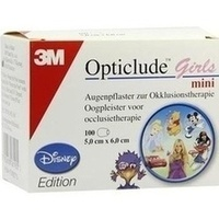 Opticlude 3M Disney Girls mini, 100 ST, 3M Medica Zwnl.d.3M Deutschl. GmbH