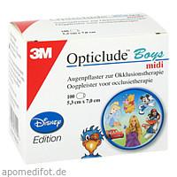 Opticlude 3M Disney Boys midi, 100 ST, 3M Medica Zwnl.d.3M Deutschl. GmbH