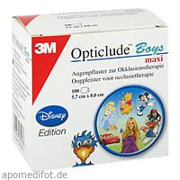 Opticlude 3M Disney Boys maxi, 100 ST, 3M Medica Zwnl.d.3M Deutschl. GmbH