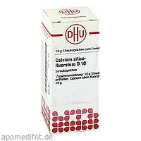 CALCIUM SILICO FLUOR D10, 10 G, Dhu-Arzneimittel GmbH & Co. KG