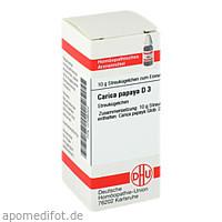 CARICA PAPAYA D 3, 10 G, Dhu-Arzneimittel GmbH & Co. KG
