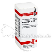 CASTOR EQUI C200, 10 G, Dhu-Arzneimittel GmbH & Co. KG