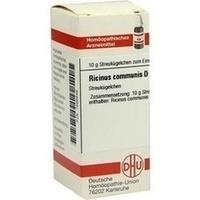 RICINUS COMMUNIS D 6, 10 G, Dhu-Arzneimittel GmbH & Co. KG