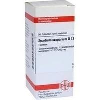 SPARTIUM SCOPARIUM D12, 80 ST, Dhu-Arzneimittel GmbH & Co. KG