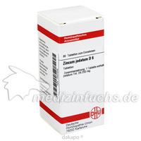 ZINCUM JODATUM D 6, 80 ST, Dhu-Arzneimittel GmbH & Co. KG