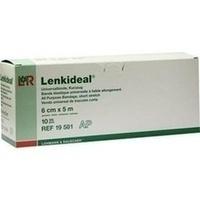Lenkideal 5mx6cm ohne Verbandklammern weiß, 10 ST, Lohmann & Rauscher GmbH & Co. KG