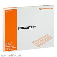 Leukostrip 6.4X76mm Einzelbtl., 10X3 ST, Smith & Nephew GmbH