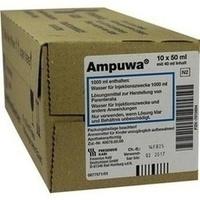 Ampuwa 50ml Frekafl.(mit 40ml Inhalt), 10X40 ML, Fresenius Kabi Deutschland GmbH