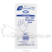 VINYL HANDSCHUHE PUDERFREI STERIL KLEIN, 2 ST, A-1 Dental Beyer+Hämmerich