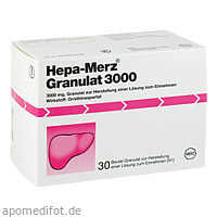 HEPA MERZ GRANULAT 3000, 30 ST, Merz Pharmaceuticals GmbH