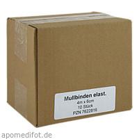 Mullbinden Elast 4mx6cm, 10 ST, Medi Kauf Braun GmbH & Co. KG