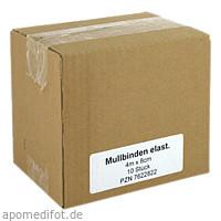 Mullbinden Elast 4mx8cm, 10 ST, Medi Kauf Braun GmbH & Co. KG