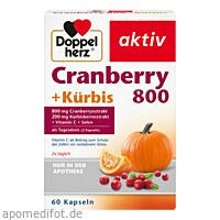 Doppelherz Cranberry + Kürbis Kaps., 60 ST, Queisser Pharma GmbH & Co. KG
