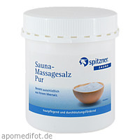 Spitzner Sauna Massagesalz Pur, 500 G, Dr.Willmar Schwabe GmbH & Co. KG
