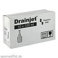 Freka Drainjet Kochsalzlösung 0.9% ISO, 10X120 ML, Fresenius Kabi Deutschland GmbH