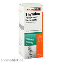 THYMIAN-ratiopharm Hustensaft, 100 ML, ratiopharm GmbH