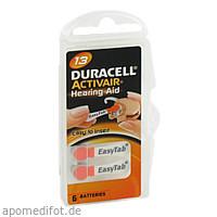 Batterie für Hörgeräte Duracell 13, 6 ST, Vielstedter Elektronik