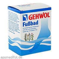 GEHWOL Fußbad Portionsbeutel, 10X20 G, Eduard Gerlach GmbH