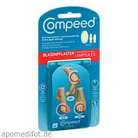 Compeed Blasenpflaster Mixpack, 5 ST, Hra Pharma Deutschland GmbH