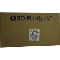 BD Plastipak W+B 50/60ml m Katheteransatz, 60 ST, Becton Dickinson GmbH