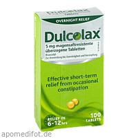 Dulcolax Dragees, 100 ST, Eurimpharm Arzneimittel GmbH