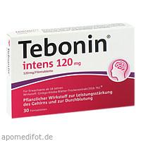Tebonin intens 120mg, 30 ST, Dr.Willmar Schwabe GmbH & Co. KG