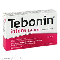 Tebonin intens 120mg, 60 ST, Dr.Willmar Schwabe GmbH & Co. KG