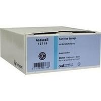 ASSURA Konvexe Basisplatten ausschneidbar R. 60mm, 4 ST, Coloplast GmbH